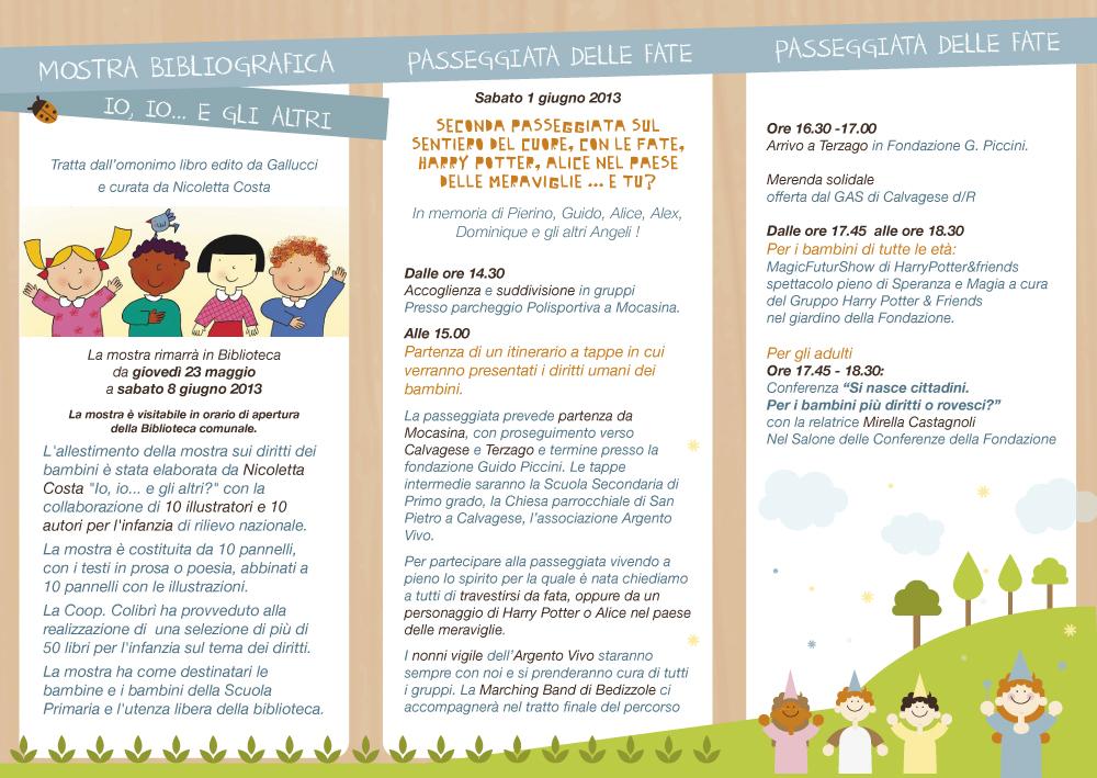 Preferenza Mostra dei diritti dei bambini Calvagese d/R | Colibrionline VJ66